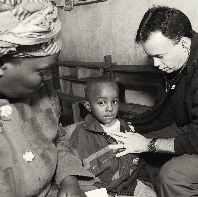 Pictured Above: Director of Medical Missions, Dr. Larry Frick
