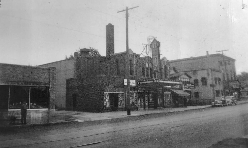 The Ritz Theater, circa 1940