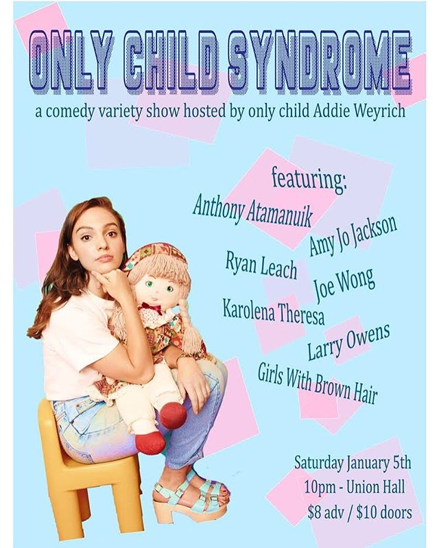 Uh oh!!! This show just got 100% more Joe Wong on the bill! See you dere?? . #comedy #nyccomedy #unionhall #onlychild #linkinbio