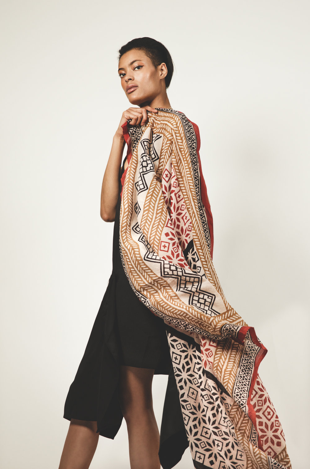 Oversized Statement Scarves -