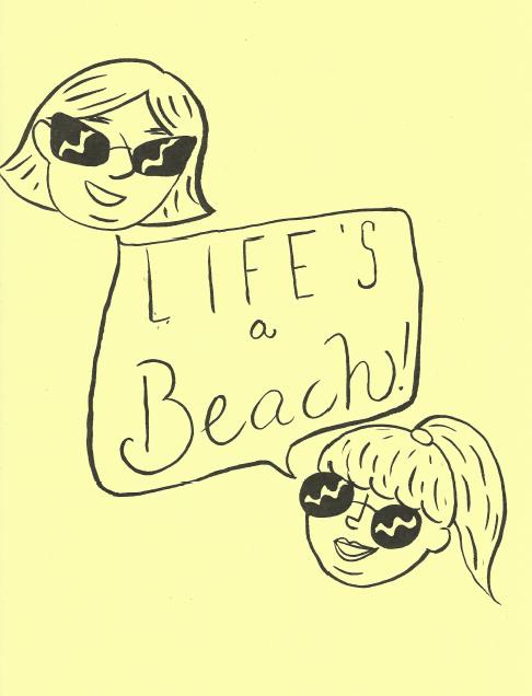Life's a Beach (Comic)