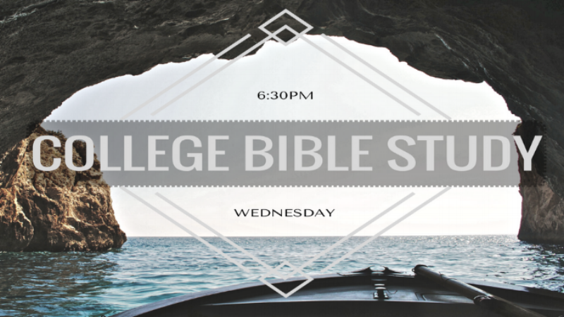 Wednesday College Bible Study
