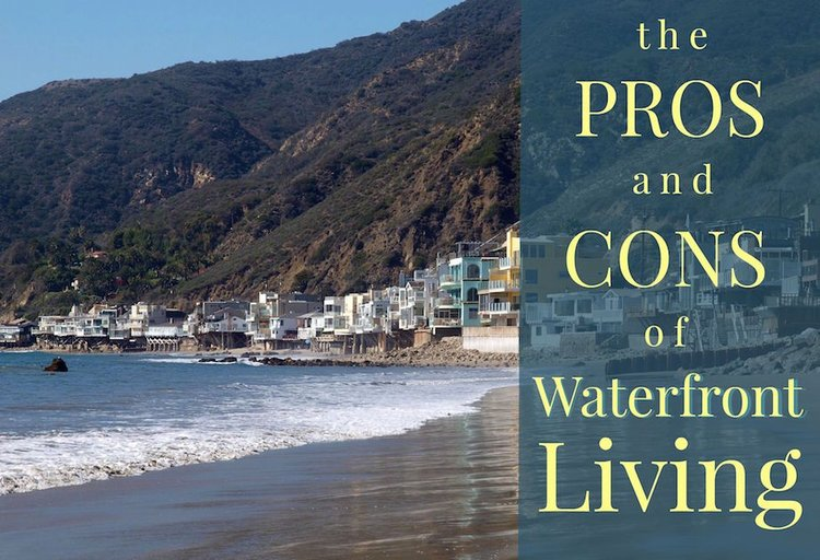 The Pros And Cons Of A Waterfront Home