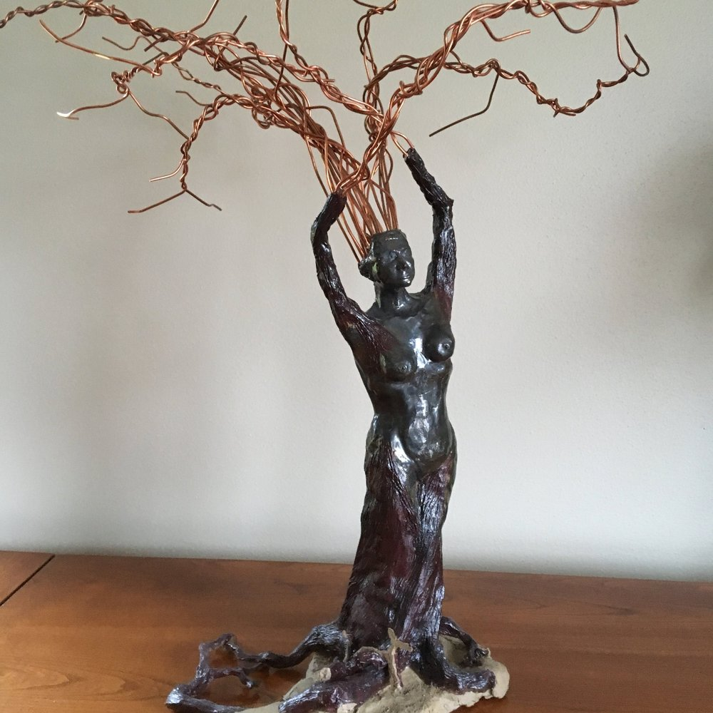 Tree Nymph | Mixed Media | Sculpture
