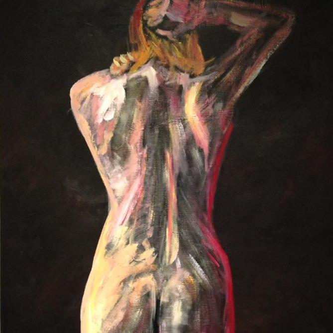 Nude | Acrylic Painting