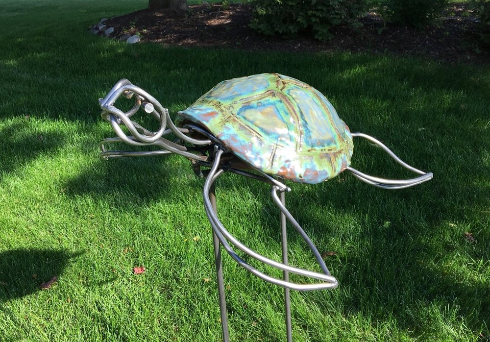 Sea Turtle   Mixed Media   Sculpture