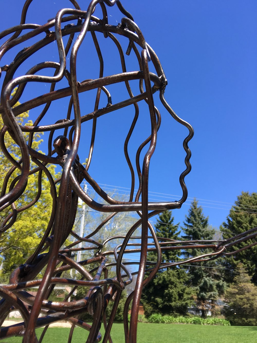 Reach | Steel | Sculpture
