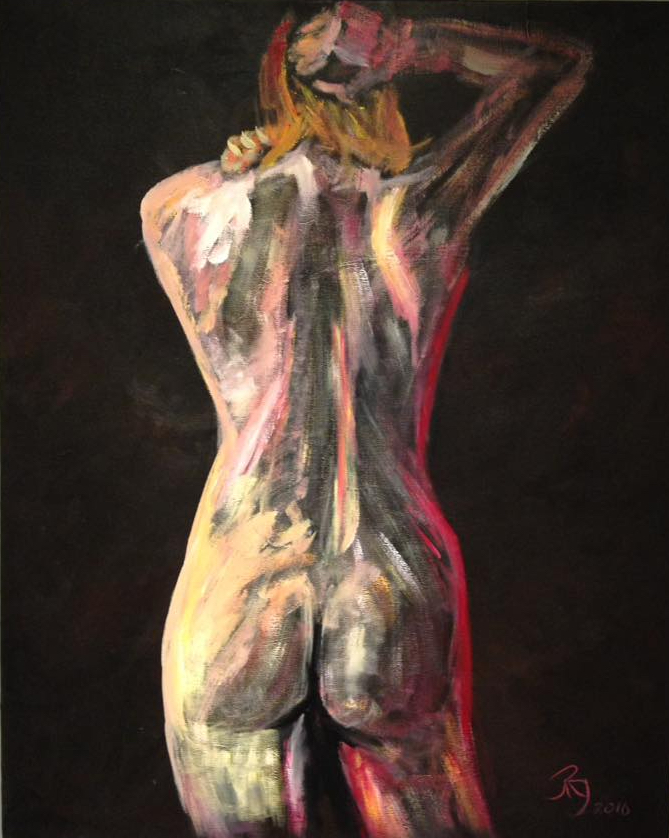 Nude | Acrylic on Canvas | Painting