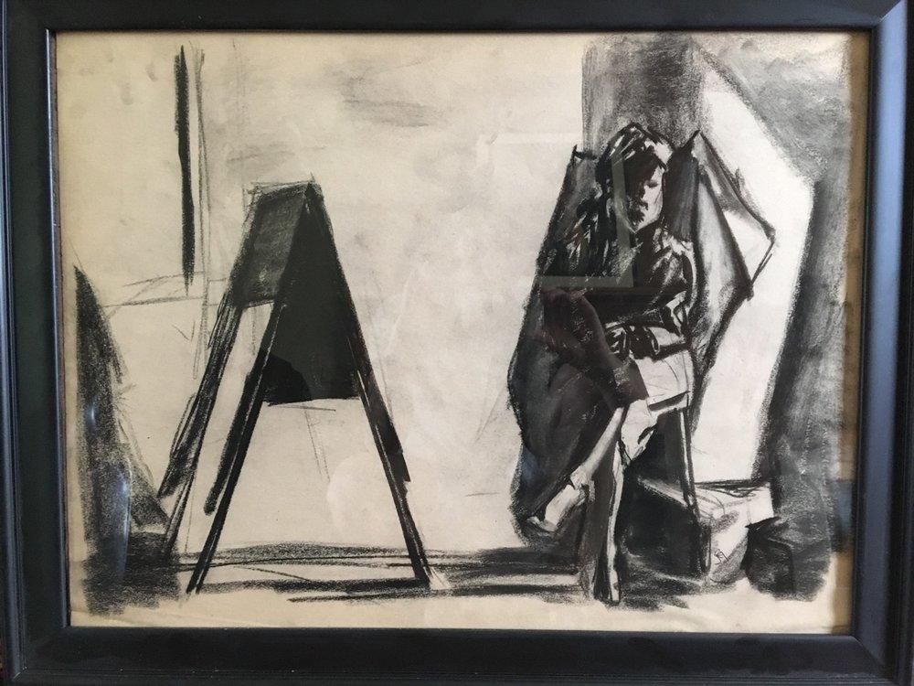 Shadow Study   Charcoal   Drawing
