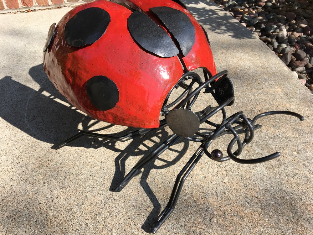 Ladybug | Mixed Media | Sculpture