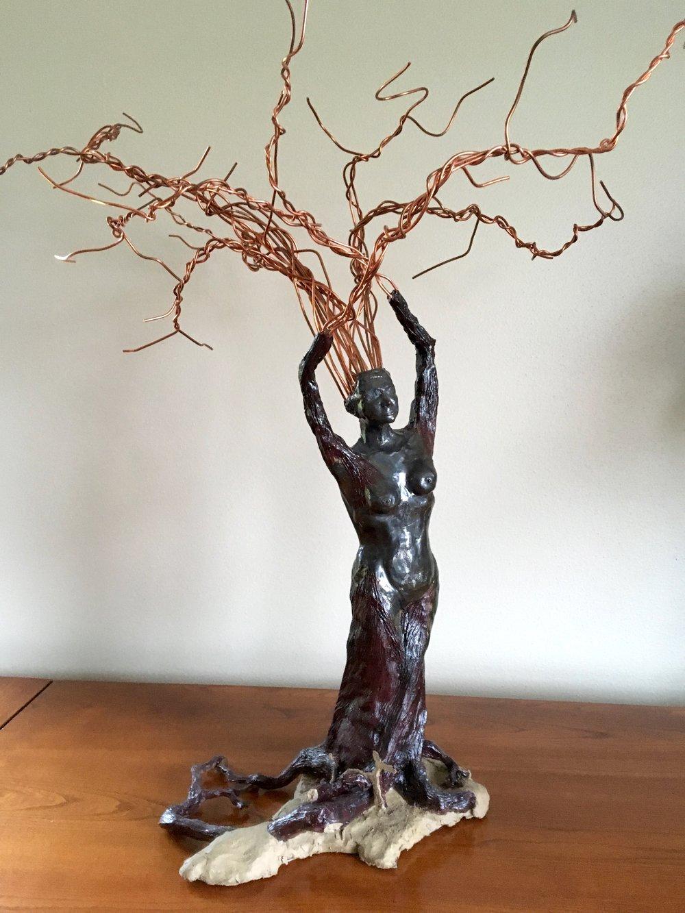 Wood Nymph | Mixed Media | Sculpture