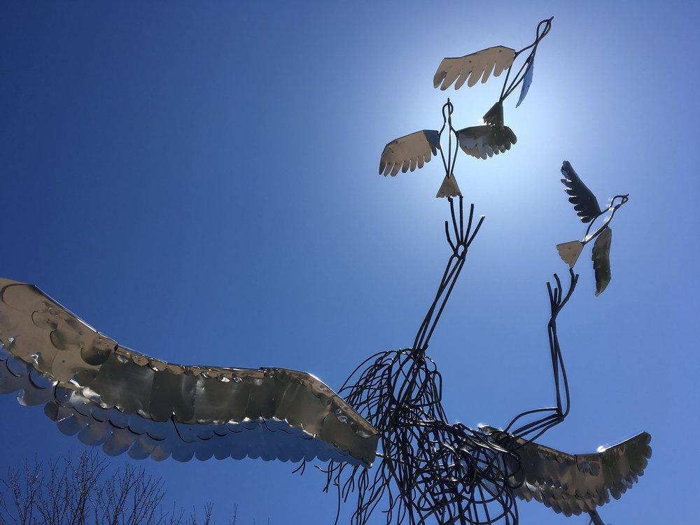 Release | Steel and Aluminum | Sculpture