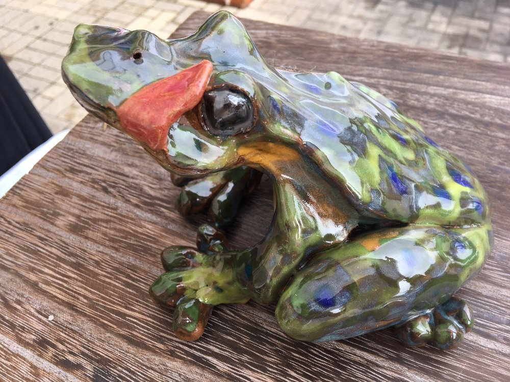 Frog Prince | Stoneware | Sculpture