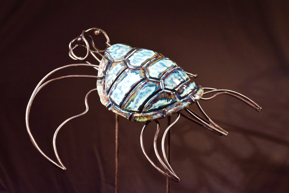 Honu (Sea Turtle) | Mixed Media | Sculpture