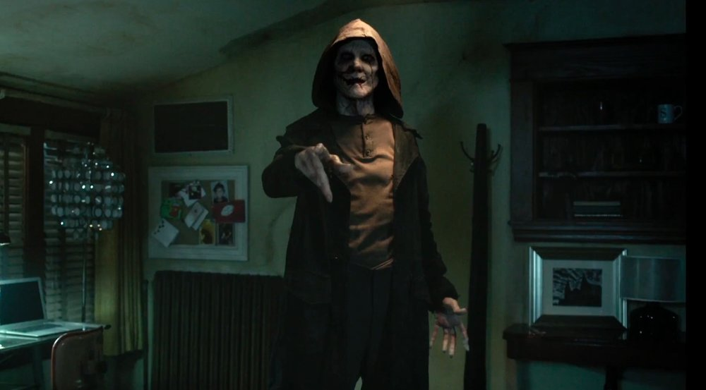 "5. THE BYE BYE MAN (Director: Stacy Title) Oh January horror films are the worst. The Bye Bye Man, based on true events (!), gives us a villainous demon who's name you cannot say or even think about because he will be summoned. Hmm, clever. Nevermind the fact that if you consider the logic of the movie, the fact that you're even watching a movie using that entity's name means you're cursed and…oh, wait. Now I get it. There's a train symbolizing something never explained. There are scenes were people should be bleeding but can't because the film is rated PG-13 and blood cannot be shown. The editing is atrocious, the dialogue absurd and absent of any scares. Like any at all. By the end, so much of this movie devolves into these brats saying that they won't say ""it"", that they can't say ""it"", and they even hold their mouths closed with their hands to avoid saying ""it,"" WHICH DOES NOT MATTER BECAUSE THEY ARE STILL THINKING ABOUT THE VERY THING THEY APPARENTLY CAN'T SAY!"