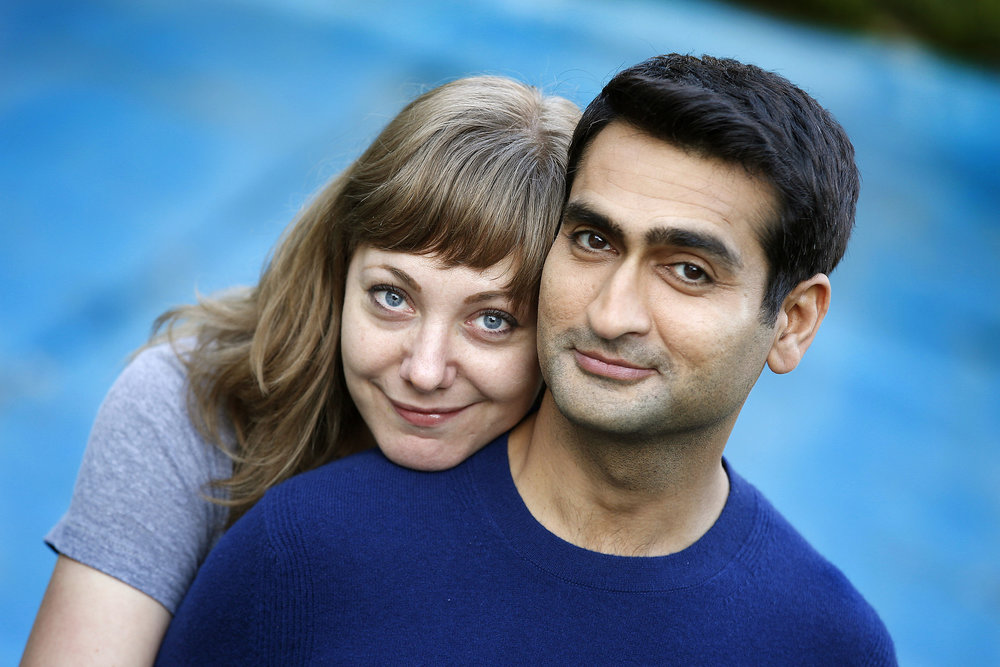 "6. EMILY V. GORDON and KUMAIL NANJIANI | Screenwriters (and Nanjiani as Kumail) | THE BIG SICK    Gordon:  ""I think what helped us partially is that we had worked together before on a couple of other projects, so we had a pretty good working relationship. I think the thing, especially for me, that I had to adjust to is that in our personal lives, I expect my husband to kind of have my back no matter what, to always support me and be lovely; and then when you go into a business meeting with a spouse, I kind of went in with that same expectation of  Oh, whatever I say he should definitely agree with it and be like, ""What a great idea. ""  And what's amazing is that my co-worker Kumail has every right to disagree and think that this idea is not great and we need to tweak it, and vice versa. I think that took a little bit of adjusting for both of us to remember that...they are your spouse, of course, but kind of emotionally they aren't. We set up some boundaries, we set up some rules around the house for when and how we can talk about work, but we mostly work really well together. We like making each other laugh.""   Nanjiani:  ""I feel like it really brought us together closer partially because what we were writing about was so personal to us but also because reading someone's writing can be a very intimate experience and reading someone's rough drafts can be a very intimate experience. And I would see her typing away at something and then she would send me the file and I would read it, and it just was like a really special, intimate feeling to be like,  Oh, she was just sitting there writing it and now I get to read it. Nobody else in the world has read it! I'm the first person in the entire world to read it!  And she's such a remarkable, wonderful, empathetic writer. I think it just really made me fall in love with her more."" -  NPR, July 12, 2017"