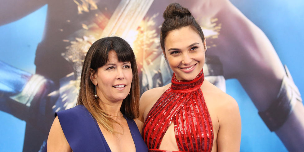 PATTY JENKINS as Director and GAL GADOT as Diana | WONDER WOMAN