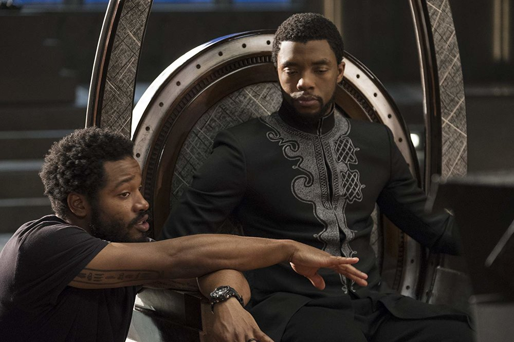 "4. RYAN COOGLER | as Director and Co-Writer | BLACK PANTHER    The largest grossing superhero movie of all time,  Black Panther  serves as an origin story for T'Challa, the King of Wakanda, who must lead his country and his people into battle against a surprising nemesis.   ""As I got older, I wanted to find a comic book character that looked like me and not just one that was on the sidelines,. And I walk in and ask the guy at the desk that day, and say, 'Hey man, you got any comic books here about black people, you know, like with a black superhero?' And he was like, 'Oh, yeah, as a matter of fact, we got this one.'  …There's a massive audience — not just of people of color but everybody — who wants to see different perspectives in this myth-making. They want to see something fresh, they want to see something new, but also feels very real. You walk around in this world, and you see people who look like me — all the time. I'm from the Bay Area, where we've got a very successful basketball team right now. The Golden State Warriors run out there, run up and down the court, [and] it's a bunch of black dudes. But everybody in the stadium — even though it's in Oakland — there's very few black people in that stadium. But everybody's wearing they jerseys and experiencing the emotions that they feel. You know, when Steph Curry hits a shot, it's a little white kid or a little Asian kid in there that feel like they just made the shot.  …I think intimacy can be achieved in a film on any budget. I feel, personally, like I have some of my most intimate scenes I've ever made in this movie. You know, I just want to make films that resonate with me, that are interesting to me, that deal with themes that I'm passionate about. ( Black Panther)  brought me closer to my roots. This movie took me to the continent of Africa, which is somewhere I wanted to go since my mom and dad sat me down and told me I was black, you know what I mean? So I hope to make movies that'll challenge me as an artist and as a person. That's really what I hope to do.""-  NPR's Morning Edition, February 15, 2018"