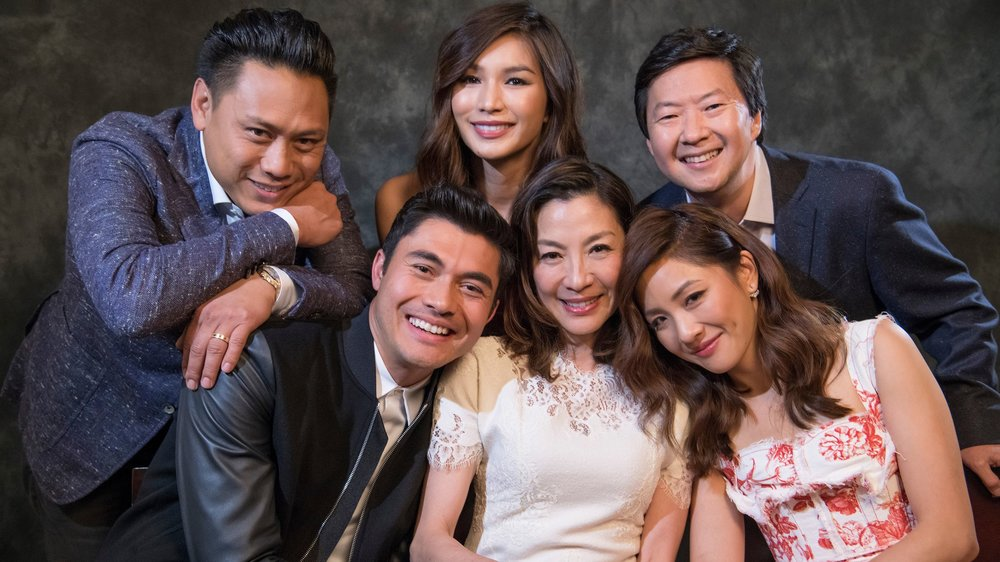"THE CAST OF ""CRAZY, RICH ASIANS"""