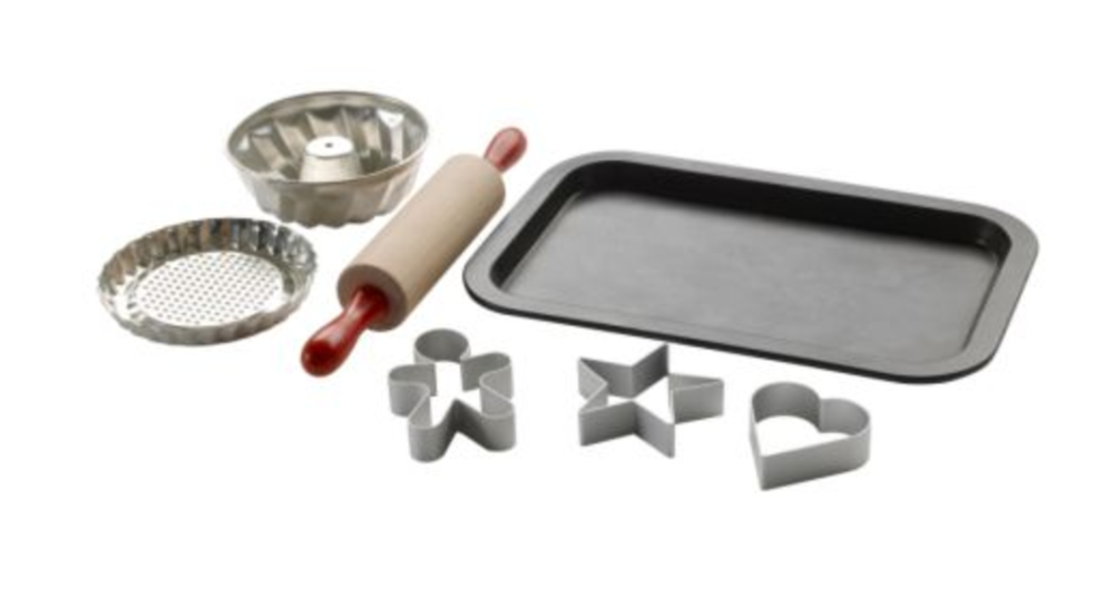 DUKTIG 7 PIECE TOY BAKING SET -