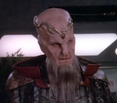 Is it just me, or does Saru look a lot like Lorien from Babylon 5?