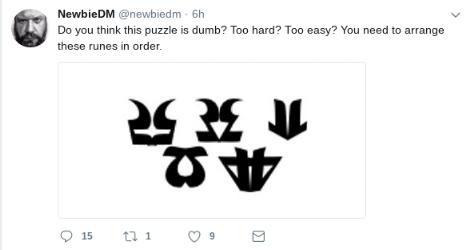 NewbieDM Puzzles Tweet.png