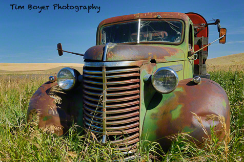 My favorite truck inthe Palouse (so far).  I think I've been here four times now.
