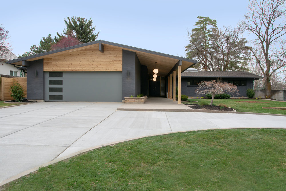 Countryside Dr, Millcreek, UT - A dreamy 1964 remodel of an already spectacular midcentury gem in the Millbrook Estates neighborhood.  This 5,600 square foot home was architect designed  and was  purchased from the original owners to be reimagined by the team at Kirby Kelly Studio.