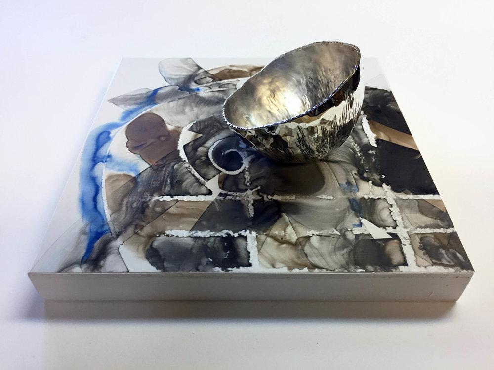 Silver Skin-98.3 gm,  Brigitte Clavette