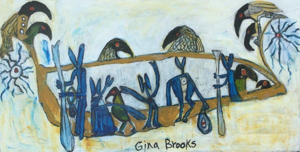 The Journey Home,  Gina Brooks