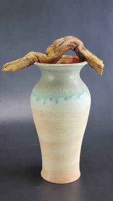 From the Forest - Vase,  Helen Stanley