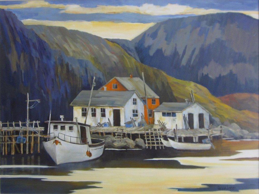 Safe Harbour, NFLD,  Helga Lobb