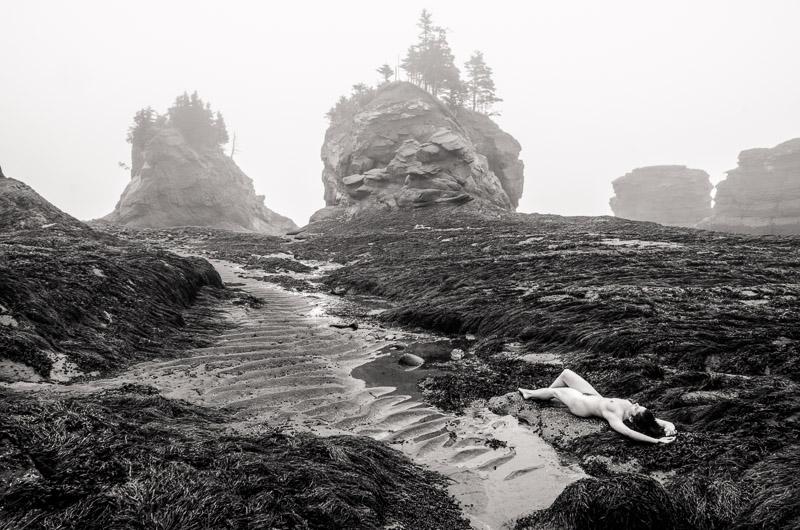 Nude in Nature: Bay of Fundy #32,Jorgen Klausen