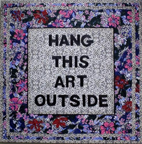 Hang This Art Outside, Bonny Hill