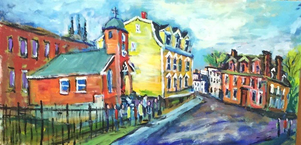 Dorchester St.,  Ed Coleman