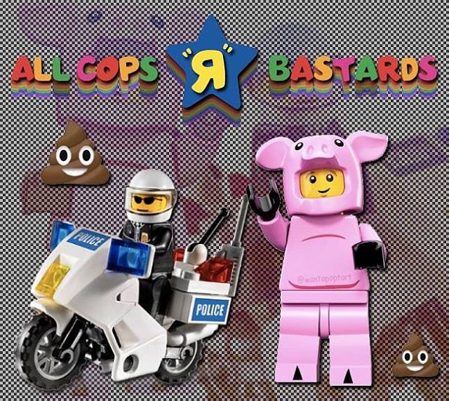 {OC} millennials ruin everything especially respecting authority #ACAB // i made the toys r us text for a @fronty_python meme a while back and i wanted to play around with it. idk if you'd call this a collab.