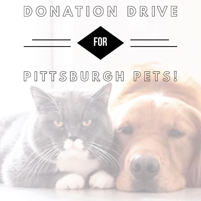 This Saturday October 20th! @hellobully and @biggiesbullies is hosting a donation drive at the Pittsburgh Food Park, benefiting @pittsburgh_pets : a community outreach partnership. Pittsburgh Pets is designed to provide veterinary care and much-needed supplies for pets and families in under-served communities in the Pittsburgh area.  Donations of unopened dog or cat food, treats, leashes, collars, and toys are being collected from 4pm-8pm and will go directly to families in our city's most under-served communities. Please look for the Pittsburgh Pets table, and donate to help fill the truck!  Saturday Food Trucks: @blackboxbistro  @buildmeafoodtruck  @doce_taco_truck  @yovis  #millvale #millvalefoodtruckpark #foodtruck #foodtrucks #pets #animalsinneed #donate