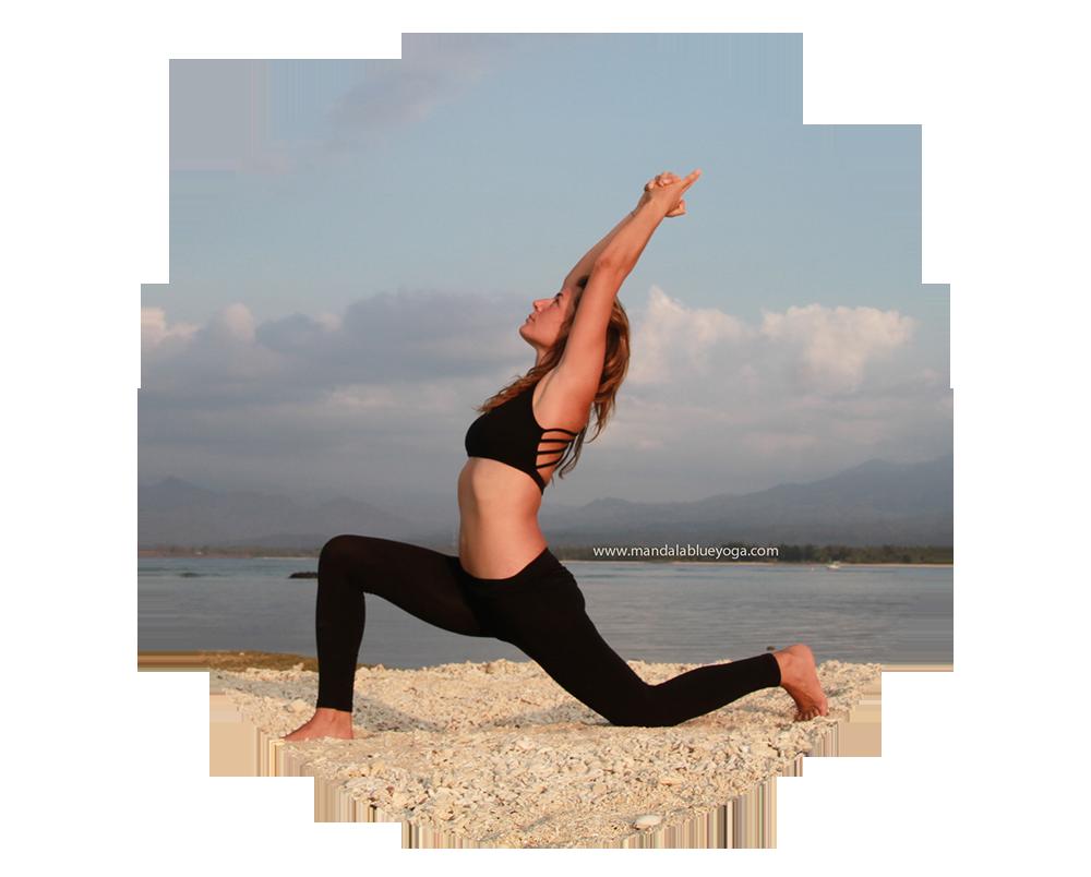 Maite ha realizado varios retiros de meditación en diferentes partes del mundo. Es la fundadora de Mandalablue Yoga en Gili Air (Indonesia) en 2014 y desde entonces ha mantenido estrechos lazos con Bali y la escena yogi de esta isla.