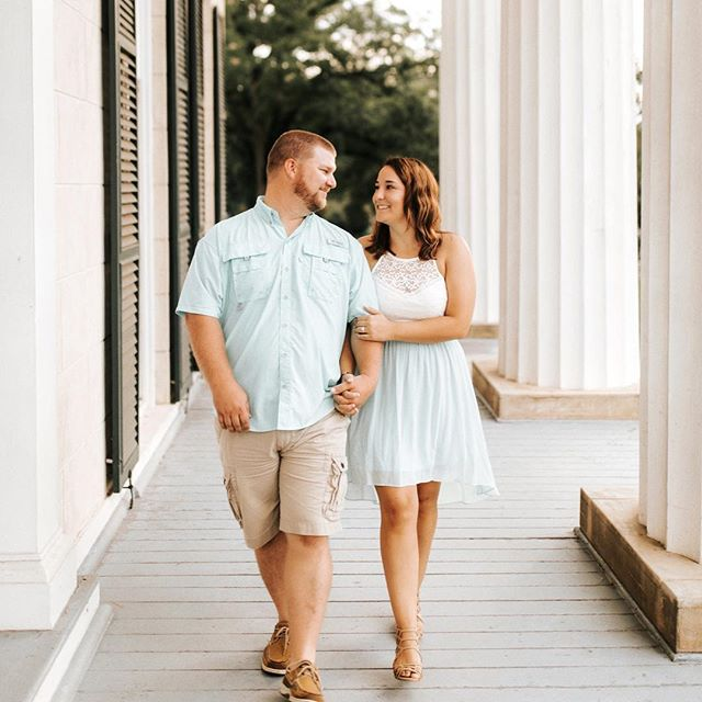 "T a y l o r +  J e r e m y  A last little glimpse inside of my amazing weekend in Georgia a few days ago! Meet Taylor and Jeremy- two insanely easy people to hang with and people who inspire me to just simply BE. We incorporated their cats, bowling balls, and this gorgeous piece of property into their engagement session. SO looking forward to witnessing these two say ""I do"" here next September! #ashlyncatheyphotography"