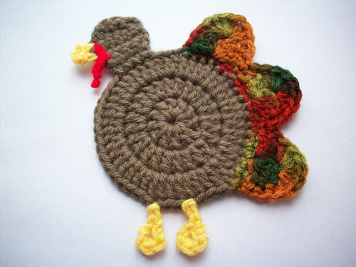 Gobble Coaster from Yarn Pixie
