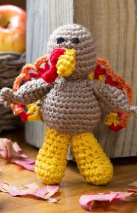 Turkey Amigurumi From Red Heart Yarn