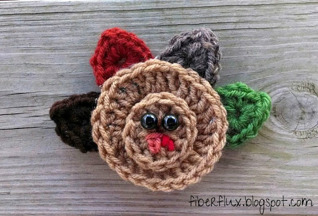 Turkey from Fiber Flux..Adventures in Stitching