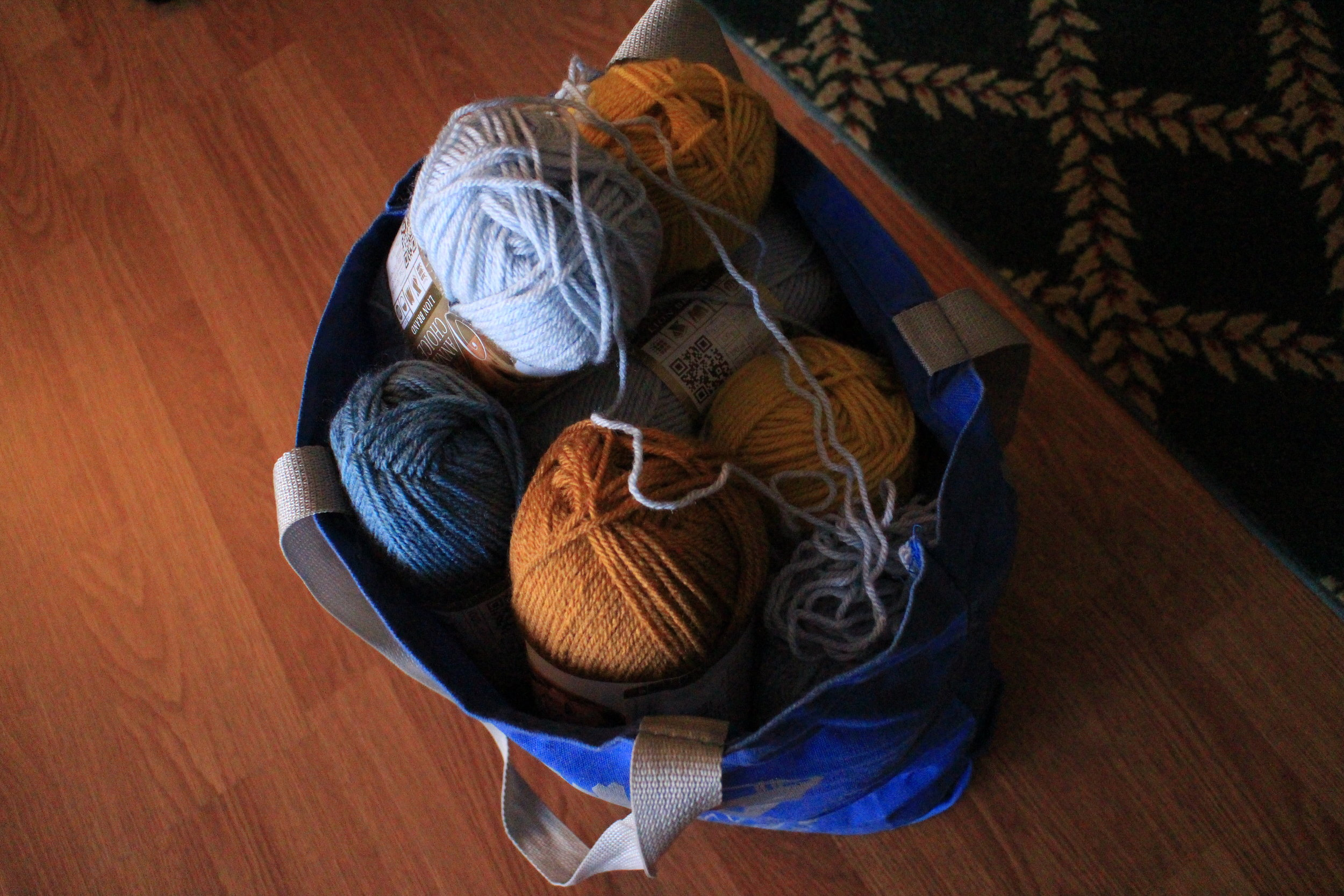 Pre-Project Yarn Stash - Color Me Reckless