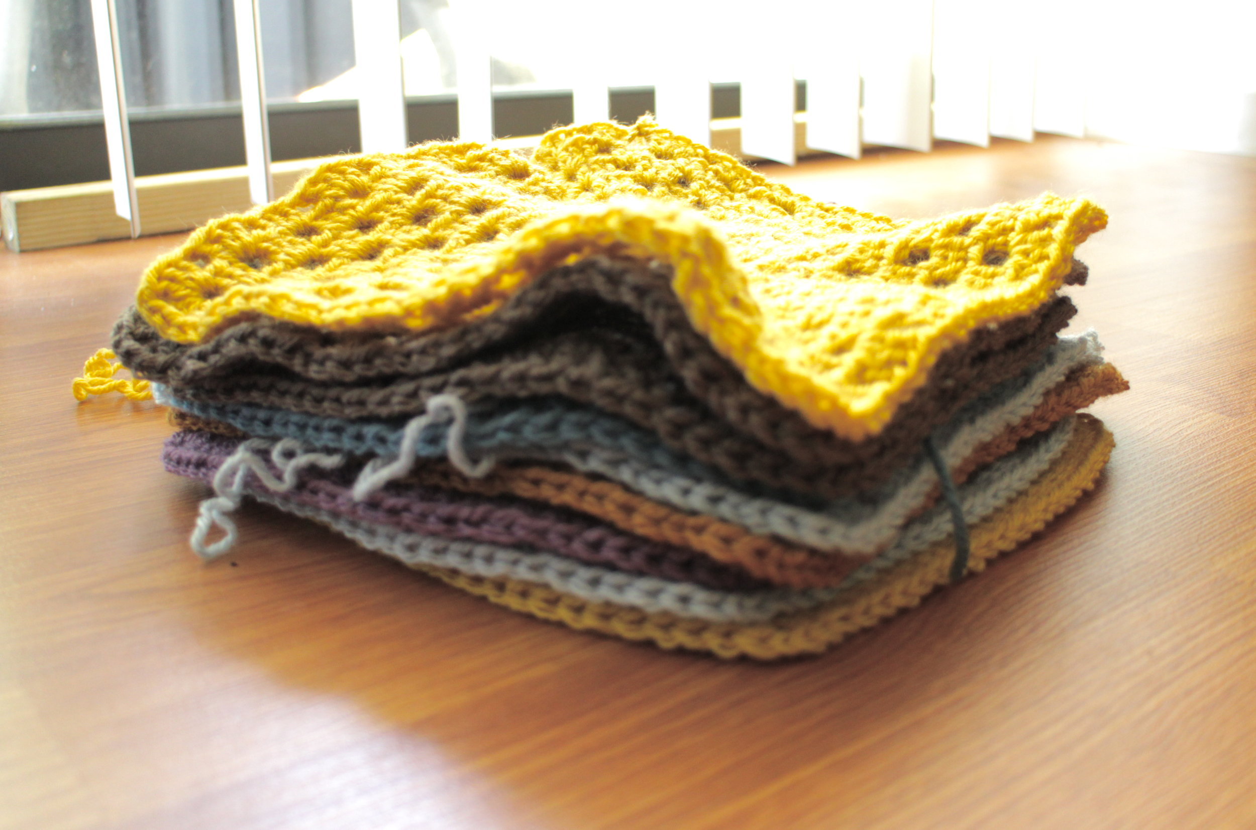 New Blanket Squares - Color Me Reckless