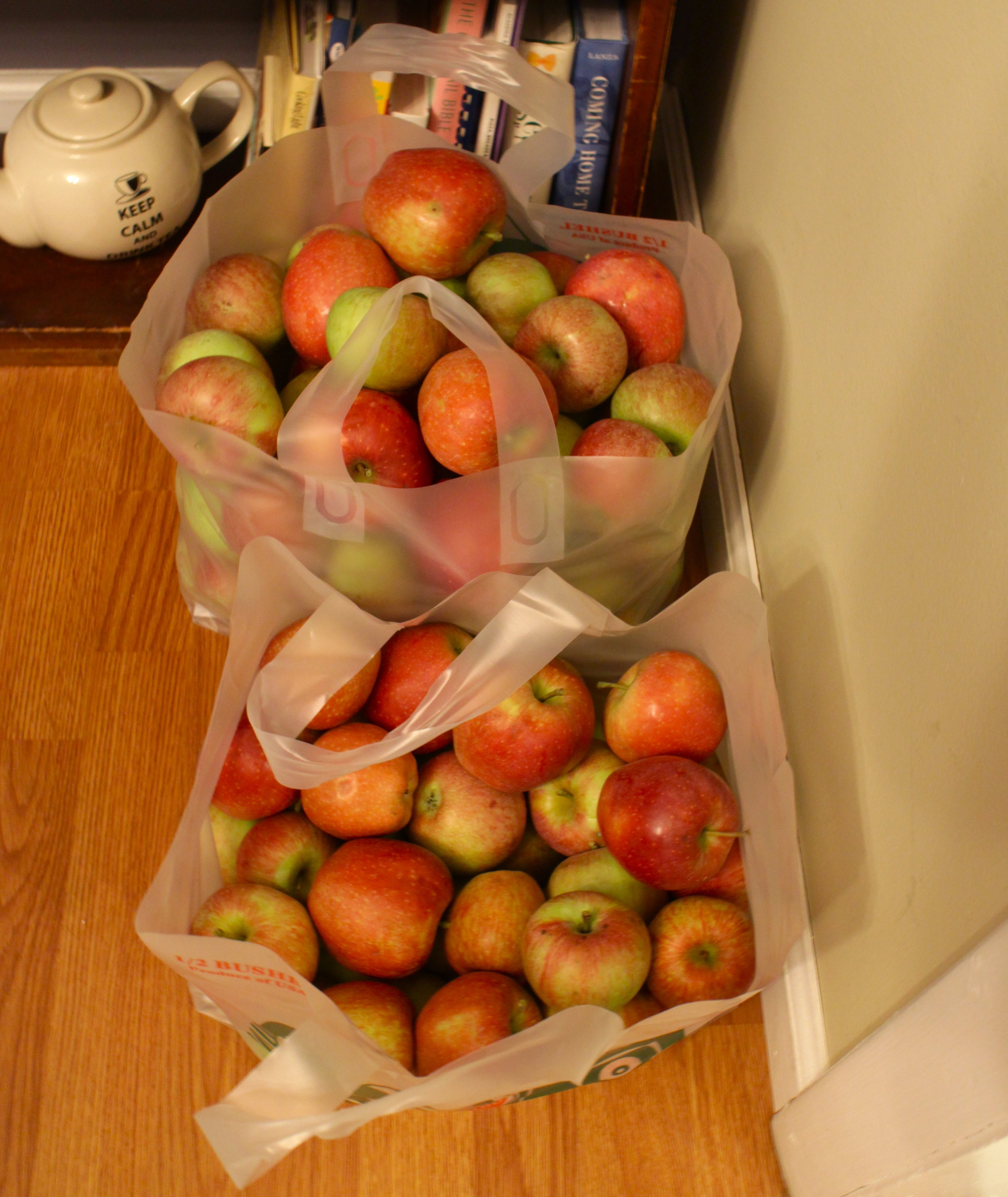 Bushels of Apples |Color Me Reckless