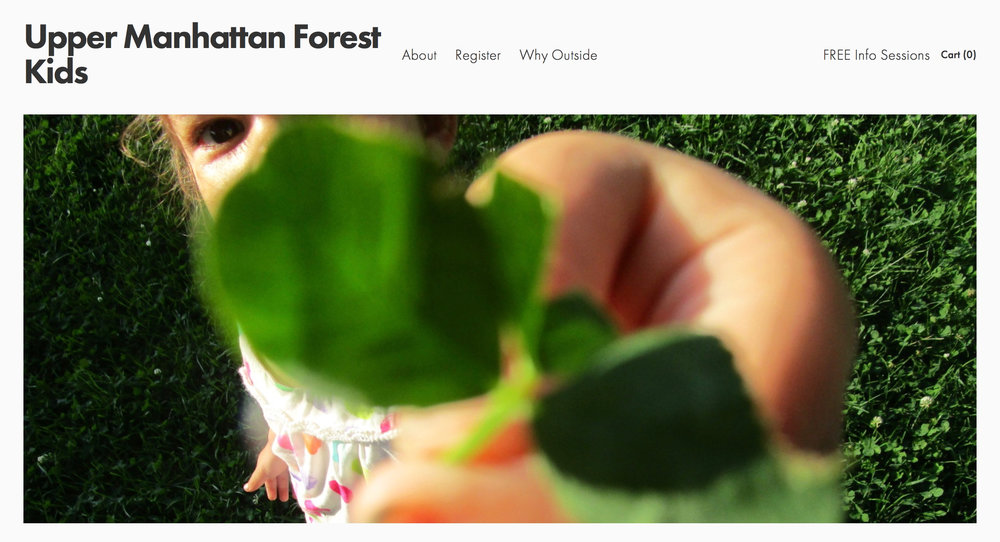 Upper Manhattan Forest Kids - Outdoor programs for Kids