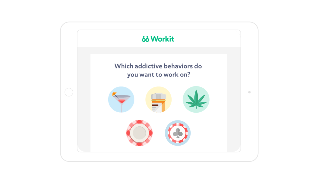 Workit dashboard sign up