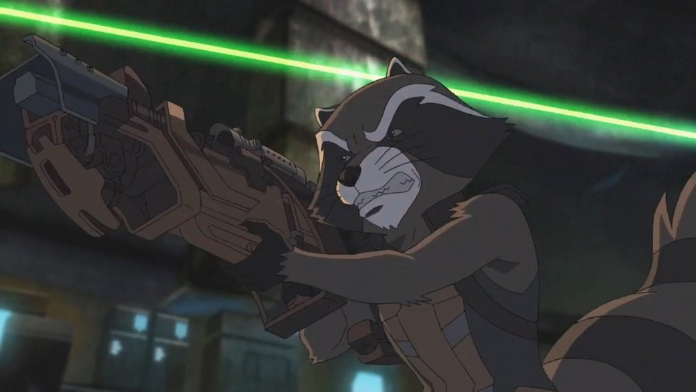 MARVEL'S GUARDIANS OF THE GALAXY - ROCKET RACCOON
