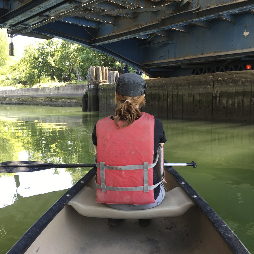 Gowanus Canoe & Photography  w/ Melissa Staiger