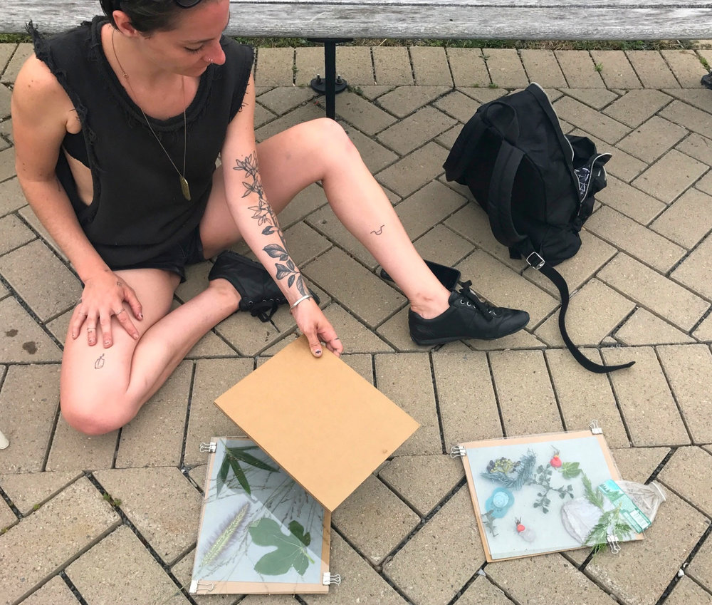 Gowanus Cyanotypes  w/ Katerina Jerinic